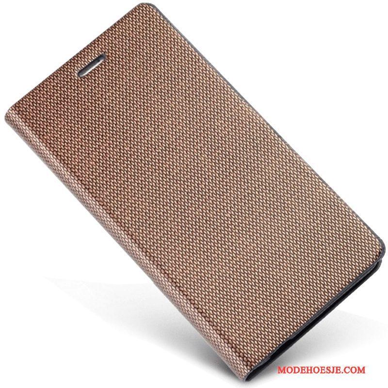 Hoesje Huawei Ascend Mate 7 Leer Duntelefoon, Hoes Huawei Ascend Mate 7 Bescherming Bedrijf Anti-fall