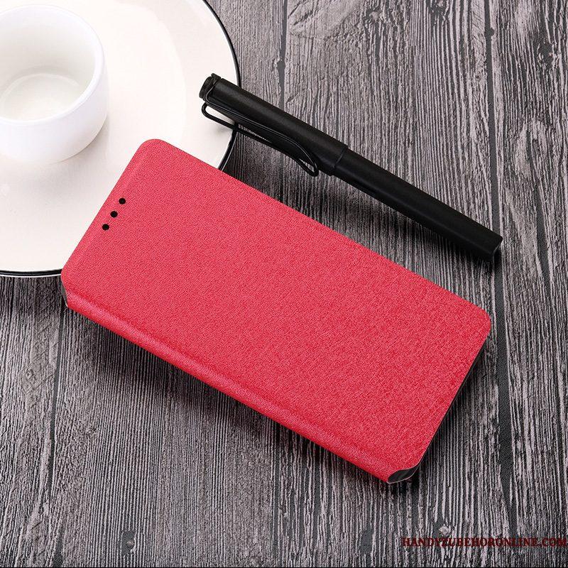 Hoesje Mi 9t Bescherming Anti-falltelefoon, Hoes Mi 9t Folio Mini Roze