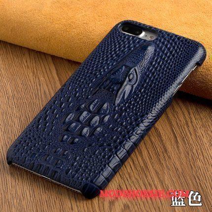 Hoesje Moto X Luxe Hardtelefoon, Hoes Moto X Leer Achterklep Dragon Patroon