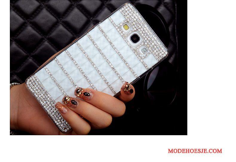 Hoesje Samsung Galaxy A3 2015 Kleur Dun Hard, Hoes Samsung Galaxy A3 2015 Bescherming Achterkleptelefoon