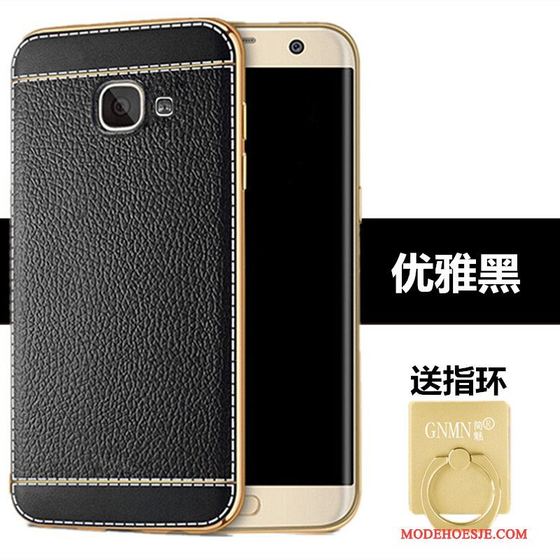 Hoesje Samsung Galaxy A5 2017 Leer Patroontelefoon, Hoes Samsung Galaxy A5 2017 Siliconen