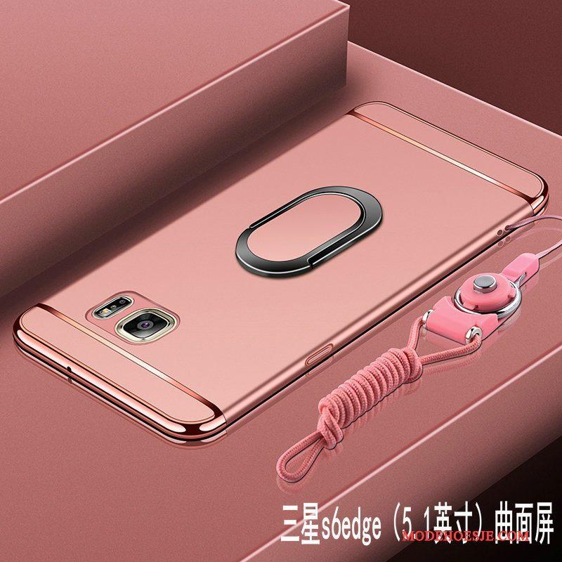 Hoesje Samsung Galaxy S6 Edge Bescherming Hard Anti-fall, Hoes Samsung Galaxy S6 Edge Telefoon Schrobben