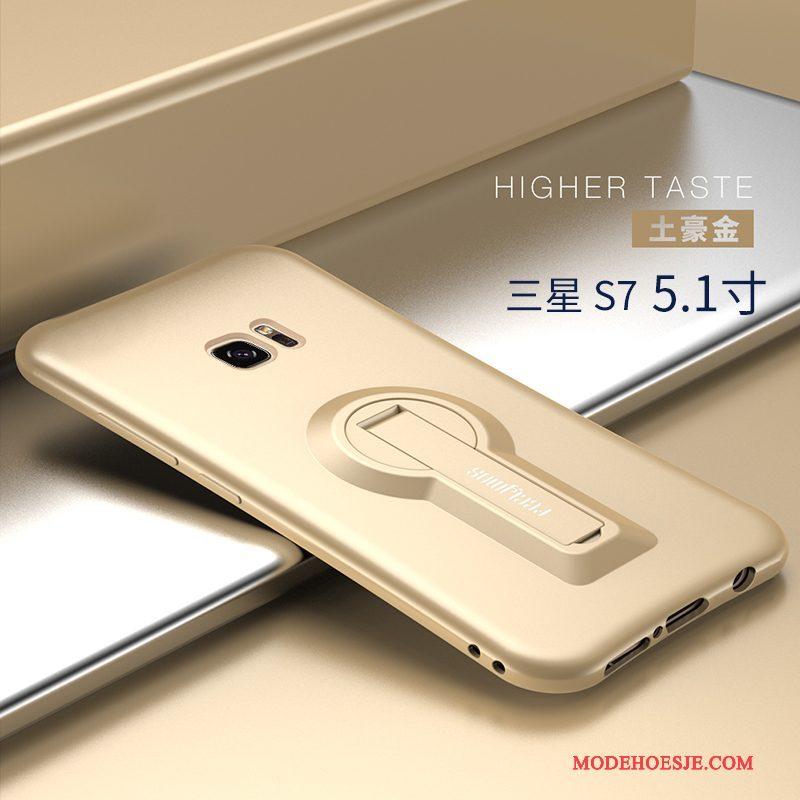 Hoesje Samsung Galaxy S7 Zacht Telefoon Trend, Hoes Samsung Galaxy S7 Siliconen Persoonlijk Rood