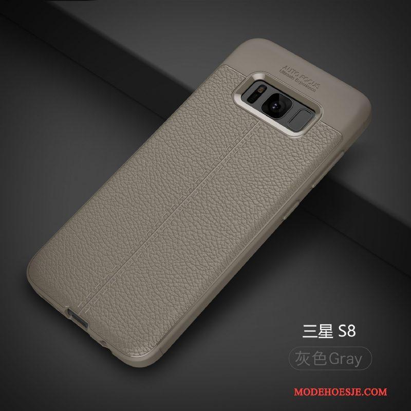 Hoesje Samsung Galaxy S8 Zacht Patroontelefoon, Hoes Samsung Galaxy S8 Zakken Trend Anti-fall