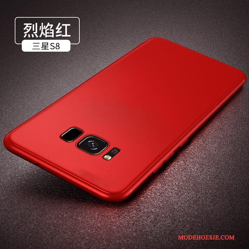 Hoesje Samsung Galaxy S8+ Zakken Schrobben Persoonlijk, Hoes Samsung Galaxy S8+ Zacht Dun Zwart