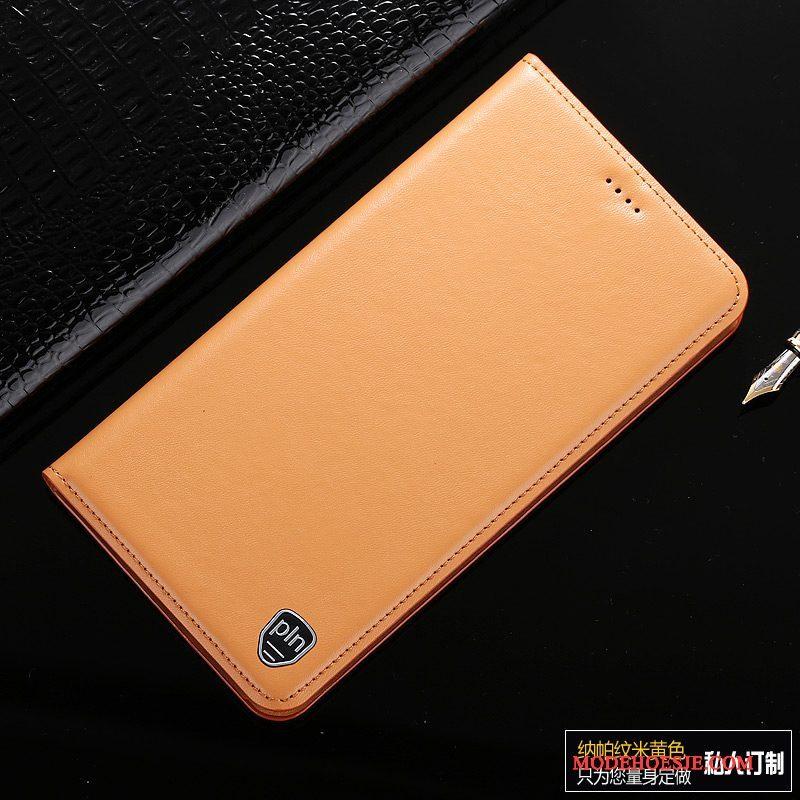 Hoesje iPhone 6/6s Bescherming Telefoon Geel, Hoes iPhone 6/6s Leer