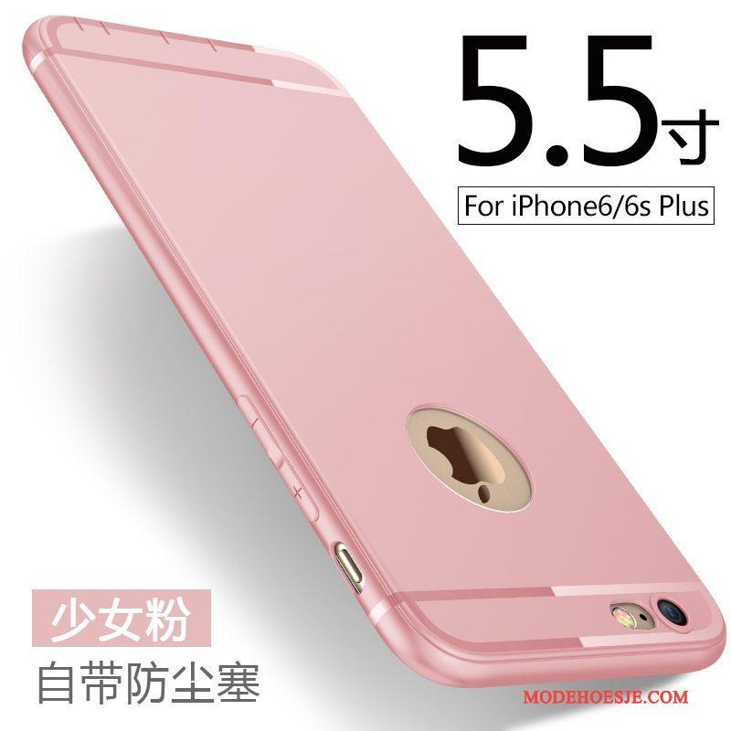 Hoesje iPhone 6/6s Plus Zakken Schrobben Blauw, Hoes iPhone 6/6s Plus Zacht Telefoon