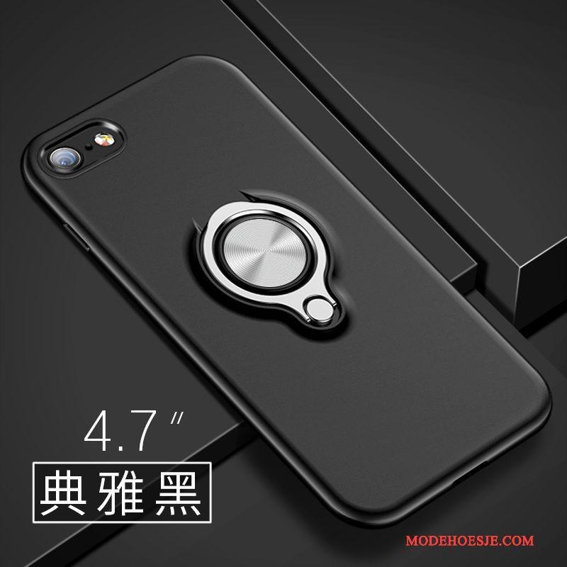 Hoesje iPhone 6/6s Scheppend Schrobben Persoonlijk, Hoes iPhone 6/6s Siliconen Telefoon Blauw