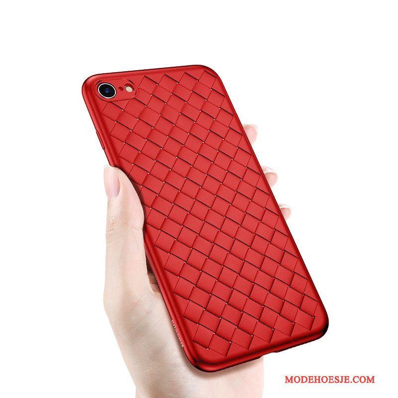 Hoesje iPhone 6/6s Zacht Trend Zwart, Hoes iPhone 6/6s Siliconen Anti-falltelefoon