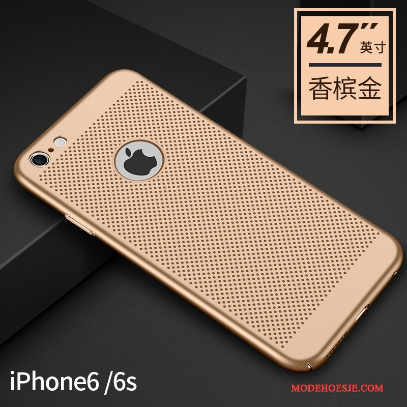 Hoesje iPhone 6/6s Zakken Schrobben Trend, Hoes iPhone 6/6s Bescherming Zwart Nieuw