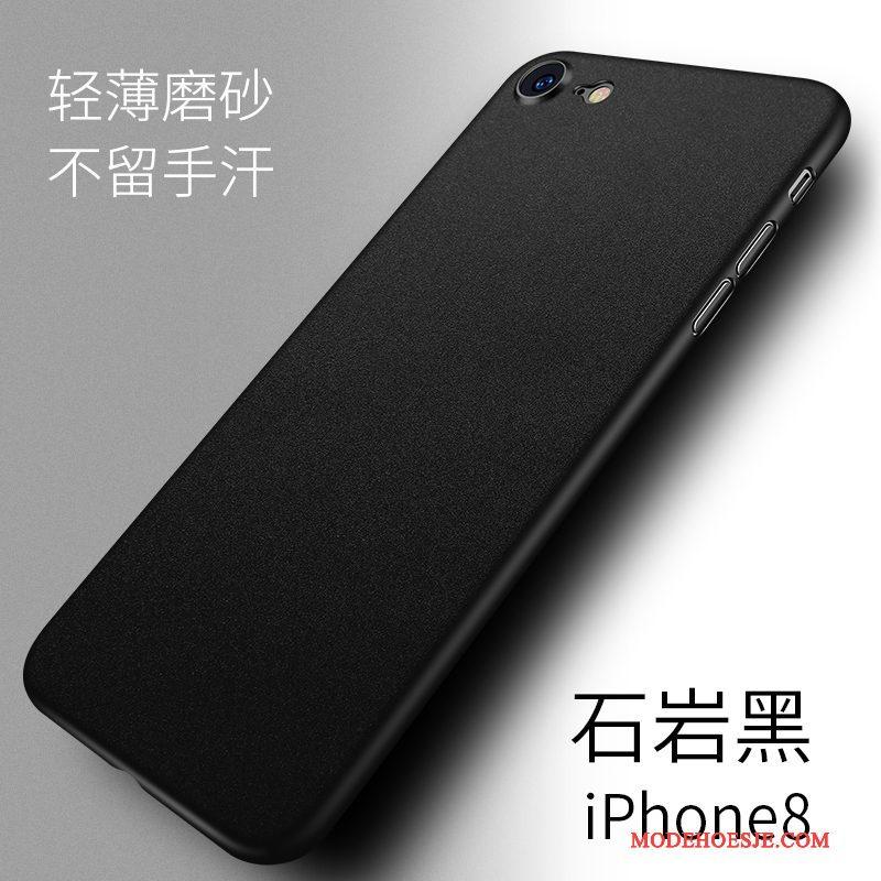 Hoesje iPhone 8 Zakken Schrobben Wit, Hoes iPhone 8 Bescherming Dun Anti-fall