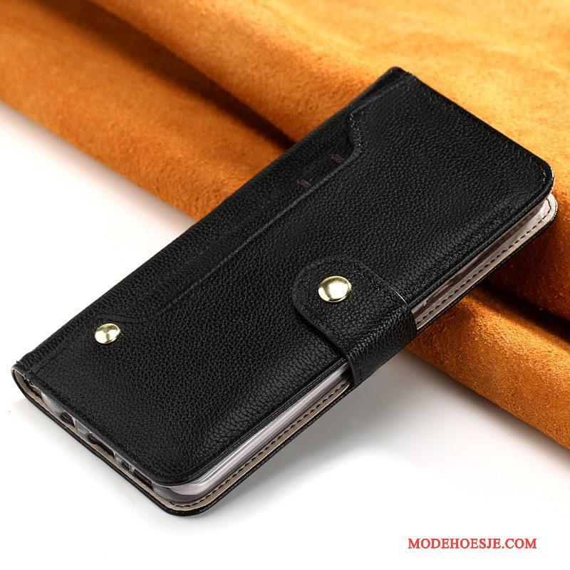 Hoesje iPhone X Bescherming Telefoon Anti-fall, Hoes iPhone X Zakken Roze Pas