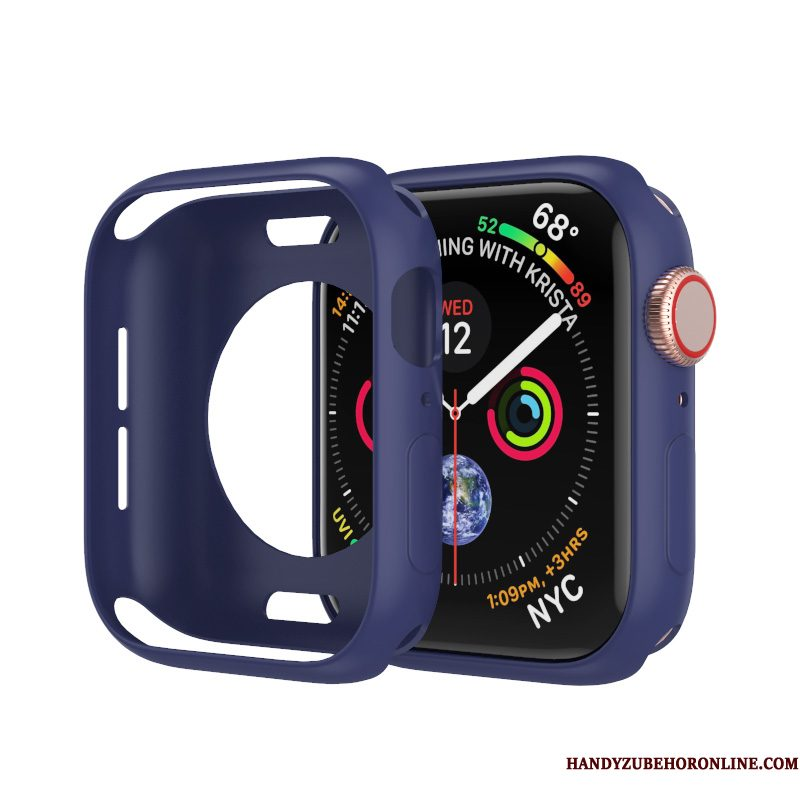 Hoesje Apple Watch Series 2 Bescherming Accessoires Anti-fall, Hoes Apple Watch Series 2 Zakken Trend Blauw