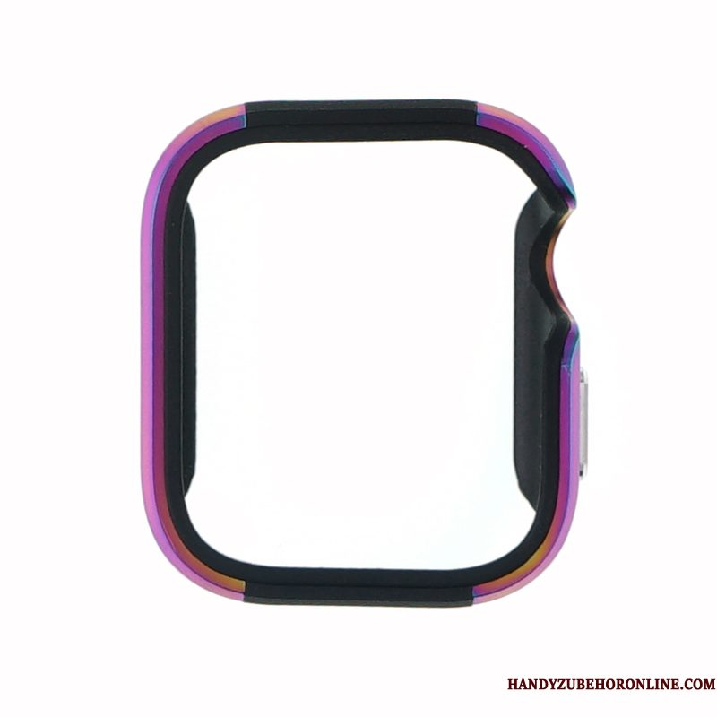 Hoesje Apple Watch Series 4 Metaal Purper Legering, Hoes Apple Watch Series 4 Bescherming
