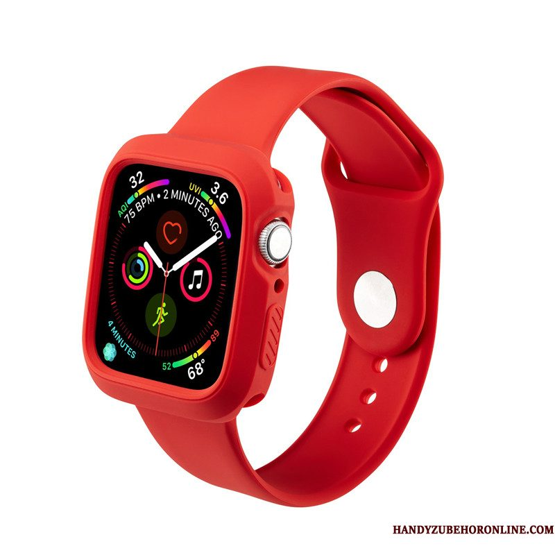 Hoesje Apple Watch Series 4 Siliconen Persoonlijk Sport, Hoes Apple Watch Series 4 Zakken Trend Waterdicht