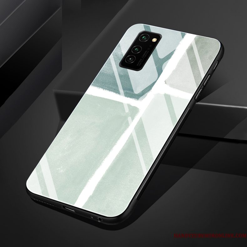 Hoesje Honor 30 Pro Siliconen Trend Licht, Hoes Honor 30 Pro Wind Glas