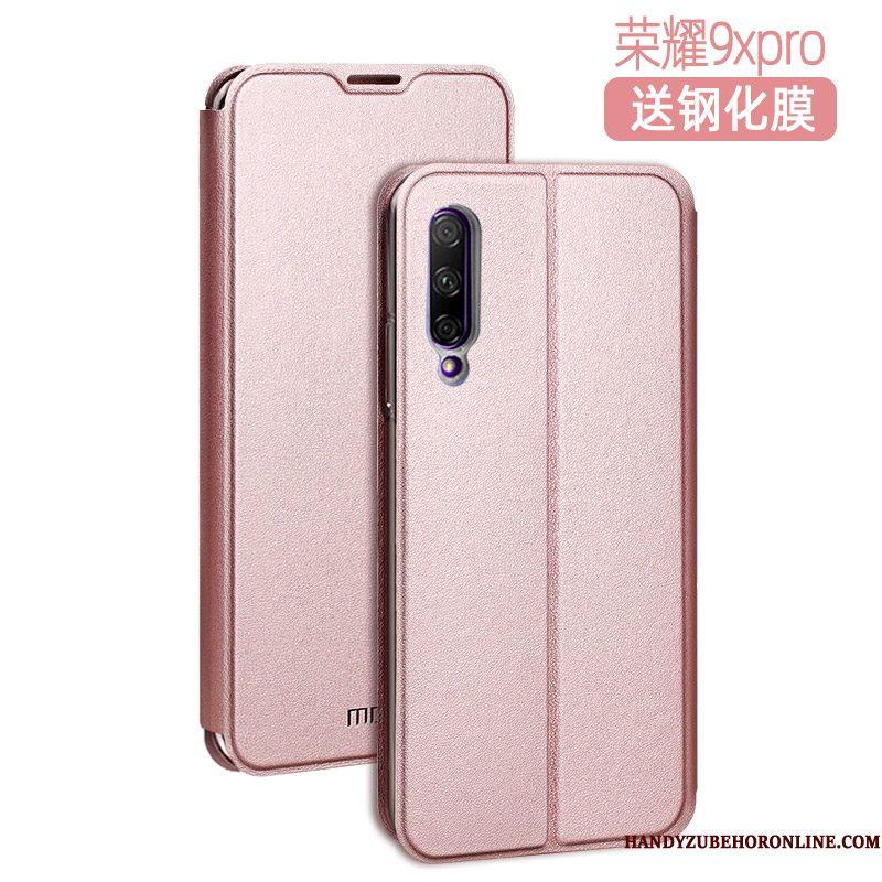 Hoesje Honor 9x Pro Zacht High End Trend, Hoes Honor 9x Pro Siliconen Telefoon Mesh