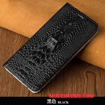 Hoesje Moto X Bescherming Telefoon Persoonlijk, Hoes Moto X Leer Pas Zwart