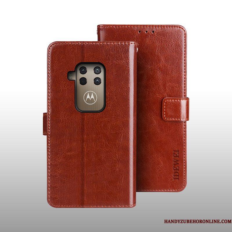 Hoesje Motorola One Zoom Leer , Hoes Motorola One Zoom Bescherming