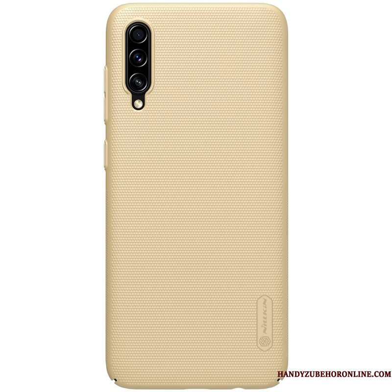 Hoesje Samsung Galaxy A70s Ondersteuning Telefoon Goud, Hoes Samsung Galaxy A70s Bescherming Hard Anti-fall