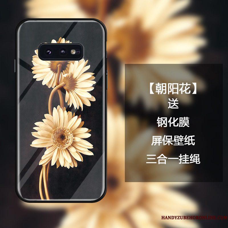 Hoesje Samsung Galaxy S10e Scheppend Telefoon Trend, Hoes Samsung Galaxy S10e Bescherming Eenvoudige Hanger