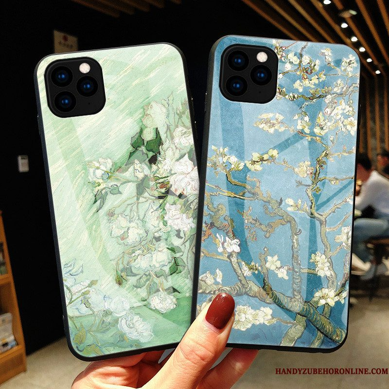 Hoesje iPhone 11 Pro Max Zakken Anti-fall Vers, Hoes iPhone 11 Pro Max Mode Kunst Glas