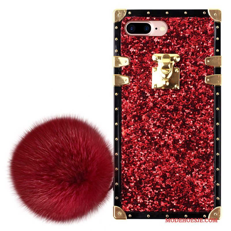 Hoesje iPhone 6/6s Luxe Telefoon Trendy Merk, Hoes iPhone 6/6s Anti-fall Rood