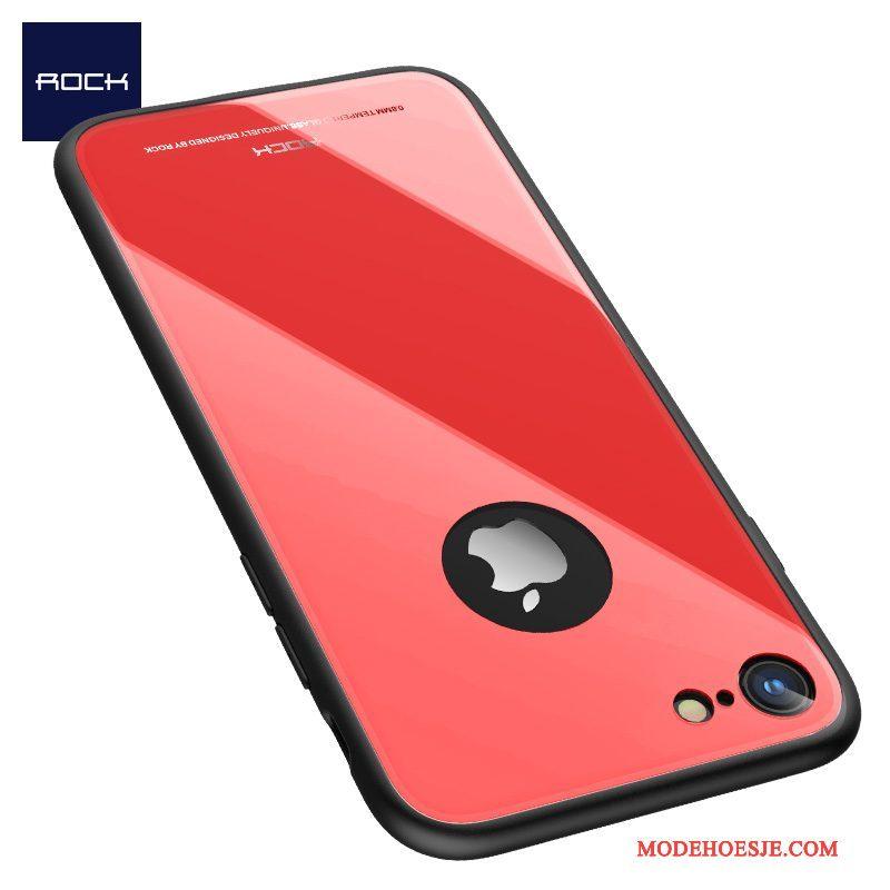 Hoesje iPhone 8 Zakken Rood Hard, Hoes iPhone 8 Zacht Anti-fall Trend